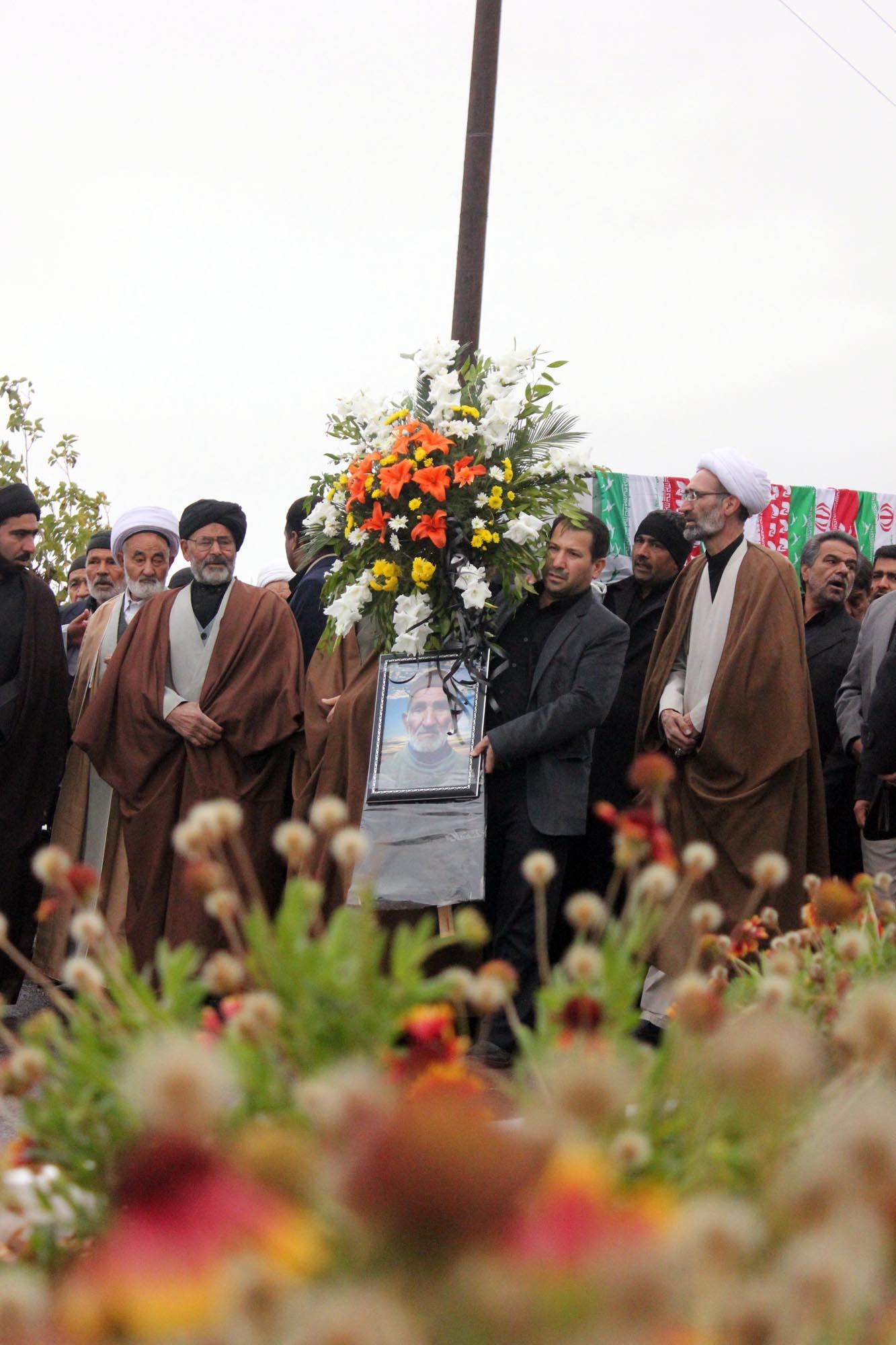 تشییع جنازه مرحوم مهاجرانی - روستای سنو